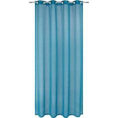 Mit diesem Vorhang in <b>Blau </b>machen Sie mehr aus Ihren vier Wänden! Das edle Accessoire wurde aus blickdichten Spezialfasern gewoben, die perfekt für Ihren Alltag ausgelegt sind. Dank der 8 Ösen lässt sich der Ösenschal kinderleicht an Ihrer Vorhangstange anbringen. Ein Vorhang, der Stil und Eleganz ausstrahlt - von <b>ESPOSA</b>, unserer Exklusivmarke für schönes Wohnen!