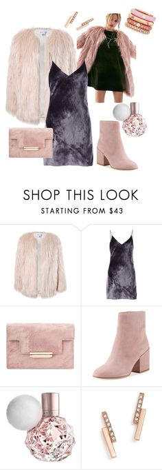 """""""Faux"""" by fashionbreezey ❤ liked on Polyvore featuring Sans Souci, Silence + Noise, Fleur du Mal, Sam Edelman, ZoÃ« Chicco and Adolfo Courrier"""