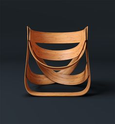 [front view] Eco-Friendly Design: The Bamboo Chair by Dutch designers Tejo Remy and René Veenhuizen    Using long-established Asian plaiting methods in combination with modern Dutch design techniques, here's a chair that is made 100% from bamboo.