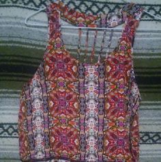 Crop Top The back of this top is lovely! The patterns are amazing as well! Rue 21 Tops Crop Tops