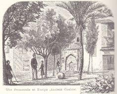 Greece-Χαλκίδα παλιά. Στην πλατεία τζαμιού,μπροστά στην οθωμανική κρήνη(βρύση).