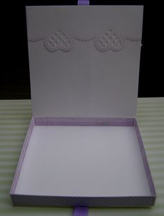 Malgodia Passion: Jak zrobić pudełko na kartkę ? - kurs