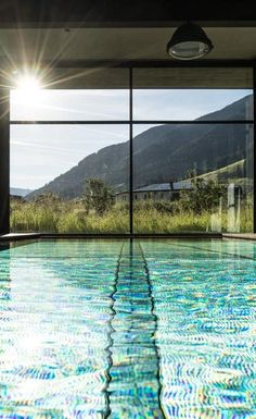 Hotel Wiesergut, Hinterglemm: Modern design hotel with extensive spa services. Design Hotel, Hotel Austria, Indoor Swimming Pools, Spa Services, Hotel S, Egypt, Modern Design, Diys, The Incredibles