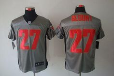 b341e5a4bc7 Nike Buccaneers  27 LeGarrette Blount Grey Shadow Men s Stitched NFL Elite  Jersey Ice Hockey Jersey