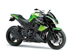 Kawasaki Z1000. Badass