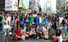 Curso de inglés en Connecticut. Excursión: Nueva York. Jóvenes 2011