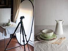 Esquemas básicos de iluminación para fotos culinarias