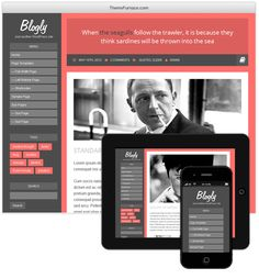 Rich collection of 20+ awesome WordPress personal blogging themes #wordpress #blogging