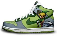 The Legend Of Zelda Nike !