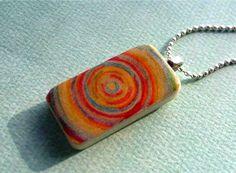 domino necklace idea