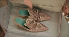 Four pairs of shoes that Marie Antoinette owned, and one fabulous pair she didn't!