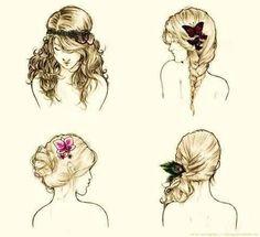 Remarkable 1000 Images About Hair On Pinterest Jane Krakowski Fishtail Hairstyles For Men Maxibearus