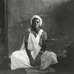 David Goldblatt - Untitled (seated woman), c.1972 - Howard Greenberg Gallery Contemporary Photography, Berenice Abbott, Photographer, History Of Photography, Artist, Photography Workshops, African Artists, David Goldblatt, South African Artists