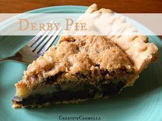 Creative Carmella: What's for dessert? Derby Pie!