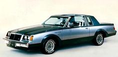 1982 Buick Grand National coupe, part of the 1982 Buick Grand National line of collectible cars