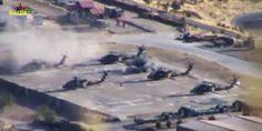 Το PKK καταστρέφει τουρκικά ελικόπτερα σε βάση στη νοτιοανατολική Τουρκία | Βίντεο