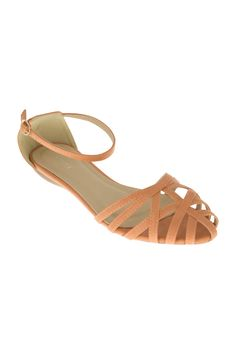 Lavish Lara Covered Toe Sandal - Womens Flats at Birdsnest Fashion