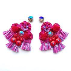 """Páči sa mi to: 10, komentáre: 1 – ArtJewelry by Kristína Jurinyi (@k.j.artjewelry) na Instagrame: """"Hmmm YUMMY  #artjewelrybykristinajurinyi #handmadejewelry #handmade #handmadeearring…"""" Earrings Handmade, Handmade Jewelry, Instagram, Handmade Jewellery, Jewellery Making, Diy Jewelry, Craft Jewelry, Handcrafted Jewelry"""