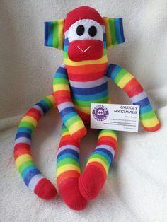 Sock monkey at facebook.com/snugglysockimals