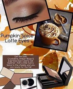 Here's the no calorie version of a Pumpkin Spice Latte! I can show you how in less than 5 minutes. Contact me at jkpinkdreams@gmail.com or visit my website and register to receive Beauty News or order the colors. Mention this post and you will get 20% off this look. www.marykay.com/jkraschinsky