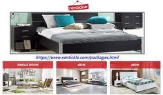 Furniture Rental Packages, avail rental furniture packages in Delhi NCR & Hyderabad in India from Rentickle. It is providing the huge range of furniture and appliances at very terms and condition. For more details, click here:https://www.rentickle.com/packages.html and call us: 1800 103 1950.