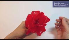 ROSA HECHA CON CÁSCARA DE NARANJA, DE FORMA FÁCIL #manualidades http://manualidades.imegalodon.com/2014/02/24/rosa-hecha-con-cascara-de-naranja-de-forma-facil/