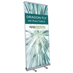 Excalibur Double Sided Banner Stand NWCI Displays Double Sided - Vinyl banners stands