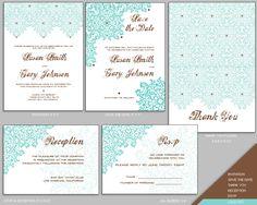 Design Your Own Wedding Invitation Templates