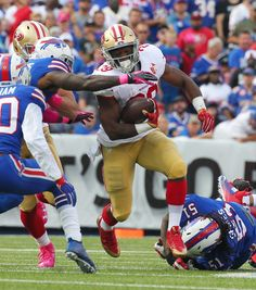 Kelly: 49ers RB Hyde unlikely to play vs. Bucs