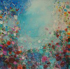 "Saatchi Online Artist: Sandy Dooley; Acrylic 2013 Painting ""Festival"""