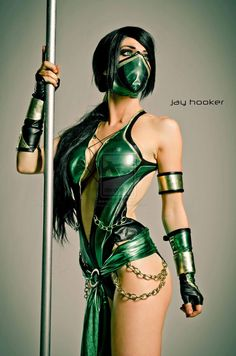 Jade - Mortal Kombat this awesome. Grew up playing this game and one of my favorite characters
