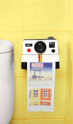 Gadgets : Polaroll Paper - Rolo de Papel com fotos impressas
