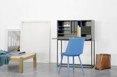 """Einfacher Schreibtisch """"Klein und Flexible"""" - Home Office"""