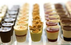 Multiple recipies for mini Brazilian desserts