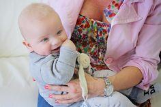 Pirner Alma és gyönyörű kisbabája: Alen újra nálunk járt! #babaszafari