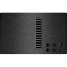 "Jenn-AirElectric Radiant Downdraft Cooktop, 36"" JED3536WS"