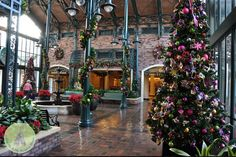 Another beautiful French Quarter lobby pic taken from the website of a jogger blogger named Karen.