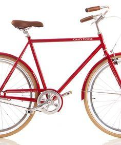 Bicicleta vintage Soho roja