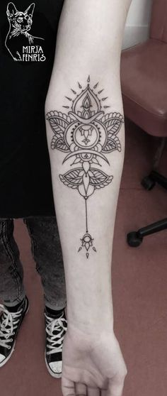 Mirja Fenris Tattoo... I love this style. I would add some Sailor Moon elements to it though :)