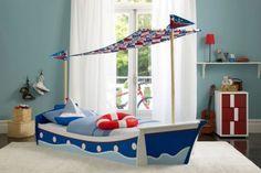 Tolle Marine Zimmer Interieurs für Jungen - ein Schiffsbet