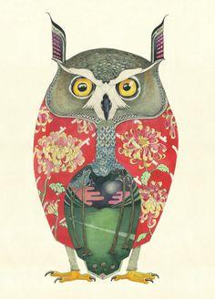 Image of Long Eared Owl - Card
