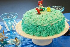 Mermaid Ballet Cake - topped with Ariel
