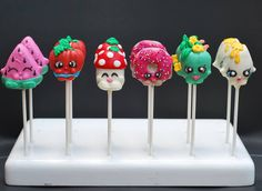 """Throwback to my Favorite CAKEPOPS EVER!!!! #tbt #cakepops #shopkins #cake…"