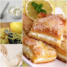 Lemon Cream Cheese Bars Are An Absolute Must Make | The WHOot