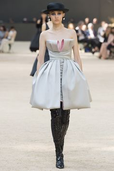 Chanel Fall 2017 Couture Fashion Show - Michelle Gutknecht