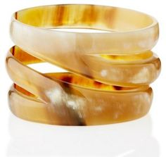 Natural Horn Cut-Out Bangle 79.00  GORGEOUS!!