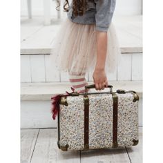 Floral Vintage Suitcase | Cox & Cox