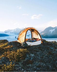 Would you like to go camping? If you would, you may be interested in turning your next camping adventure into a camping vacation. Camping vacations are fun Best Tents For Camping, Cool Tents, Camping Spots, Camping Life, Camping With Kids, Camping Beds, Camping Glamping, Camping Hacks, Alaska Camping