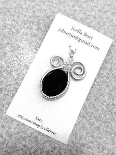 Black and Beautiful by JoelleLove on Etsy, $15.00