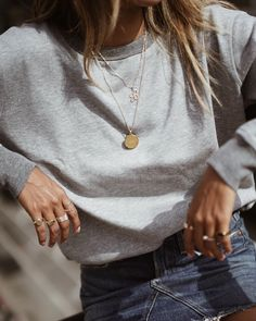 "Shop Sincerely Jules on Instagram: ""Harlow sweatshirt deets. ✨ 